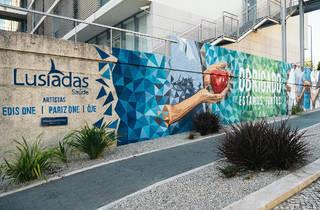 Arte Urbana, Edis One, Pariz One e Ôje, Hospital dos Lusíadas