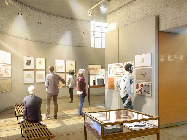 How the new gallery space will look