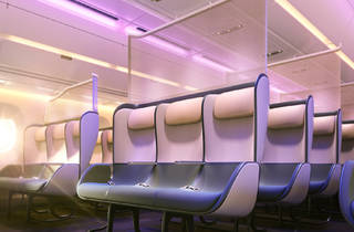 New Pure Skies Zone aeroplane seat designs by PriestmanGoode