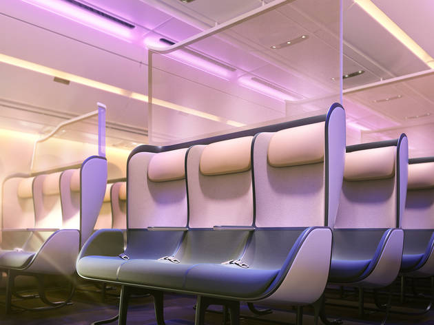 This is what plane cabins could look like in ten years