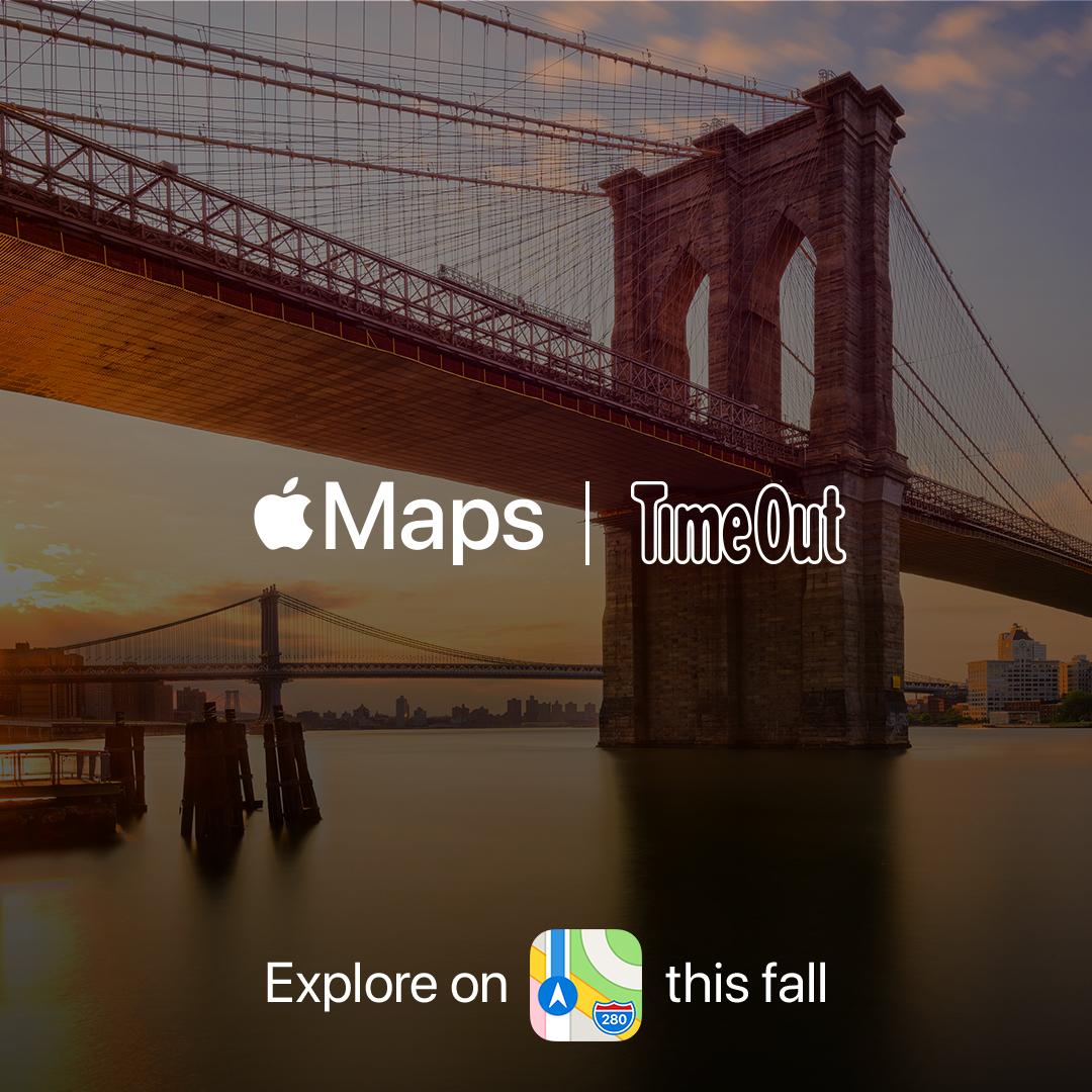 เปิดโปรเจ็คใหม่ล่าสุด ระหว่าง Apple และเครือ Time Out บน Apple Maps iOS 14