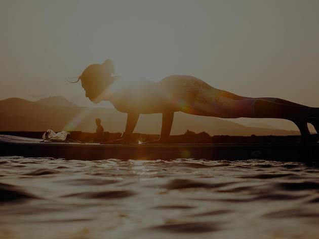 Sup Yoga en Casa de Campo