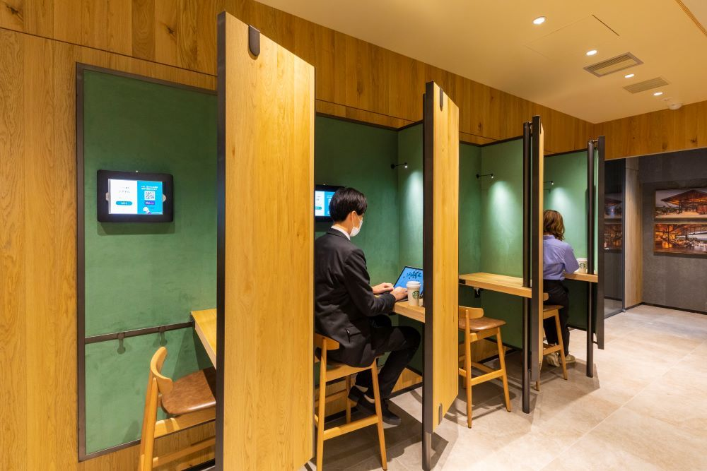 This new Starbucks in Ginza operates like a coworking space