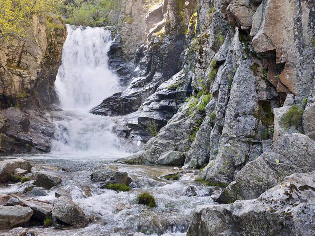 Cascada del Purgatorio. Rascafría