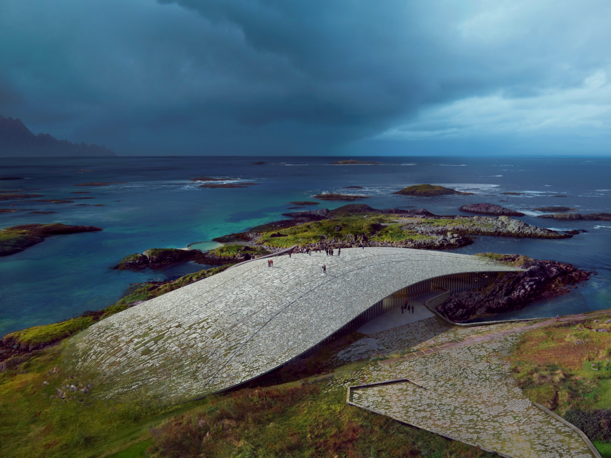 Norway is building an epic whale-watching museum in the Arctic Circle