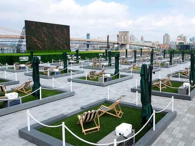 """You can now rent a """"backyard"""" on the waterfront at Pier 17"""