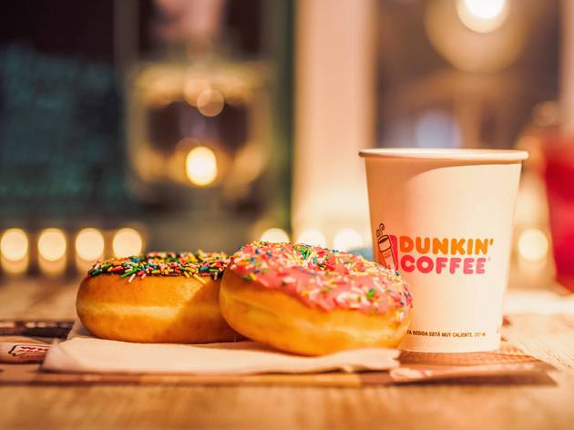 Dunkin' is giving out free coffee and donuts through the end of August