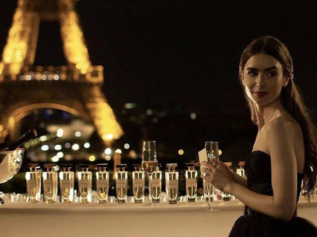 © Instagram / L'actrice Lily Collins à Paris