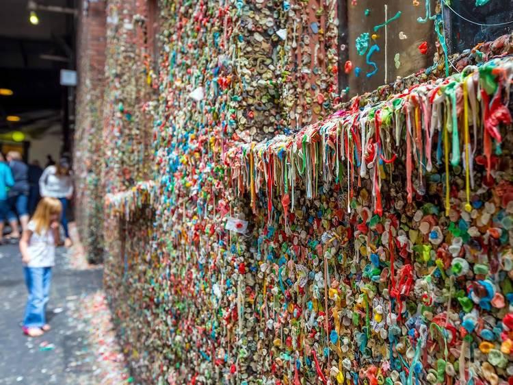The Gum Wall | Seattle, WA