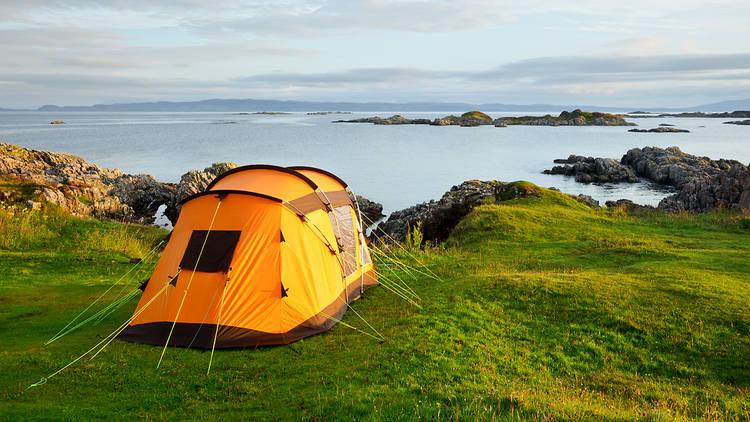 Wild camping in UK