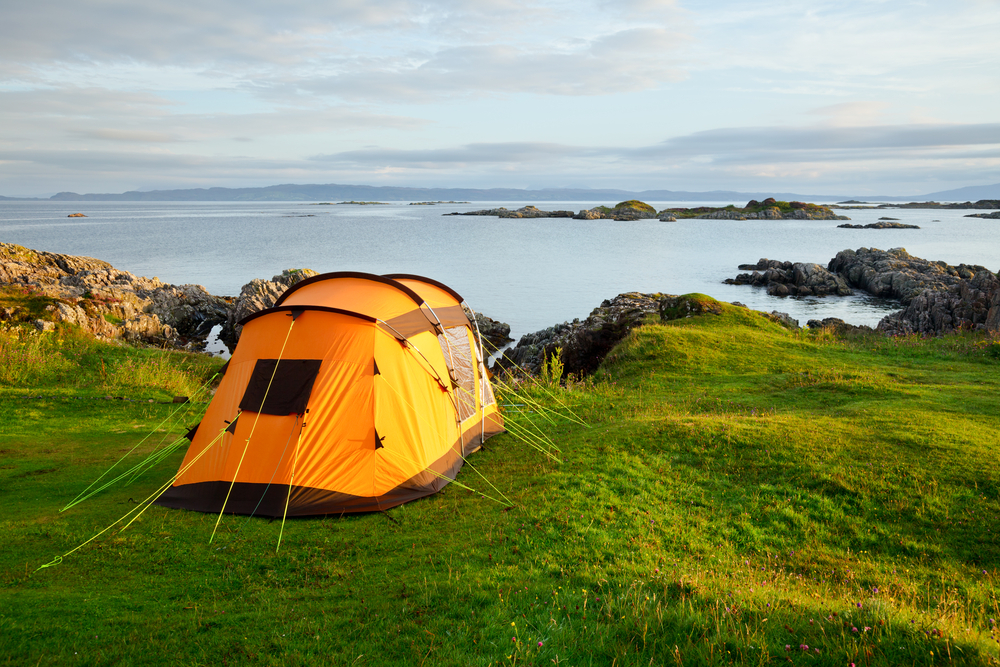This map shows you where you can go wild camping in the UK