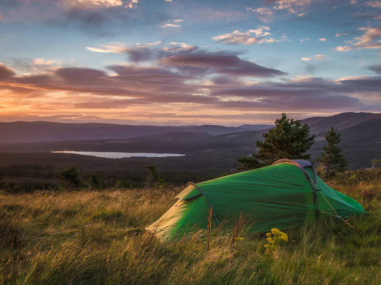 Is there any way to go wild camping in England and Wales?