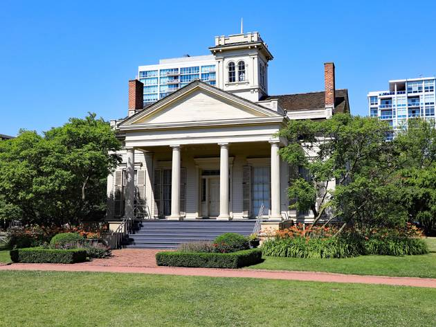 The Clarke House Museum at Chicago Women's Park and Gardens