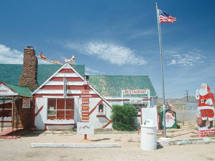 Christmas ghost town | Santa Claus, AZ