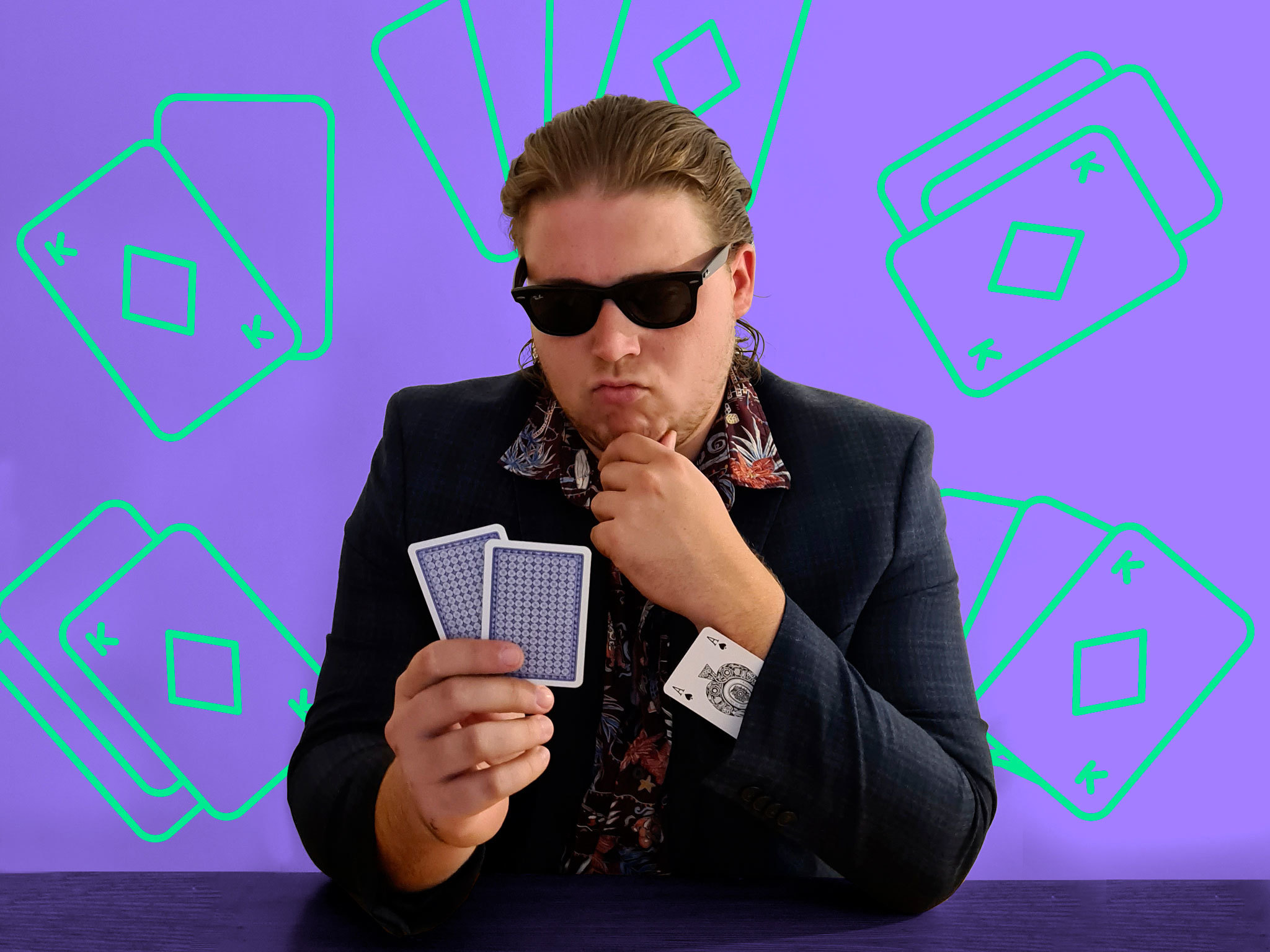 Can this man become good at poker in one week?