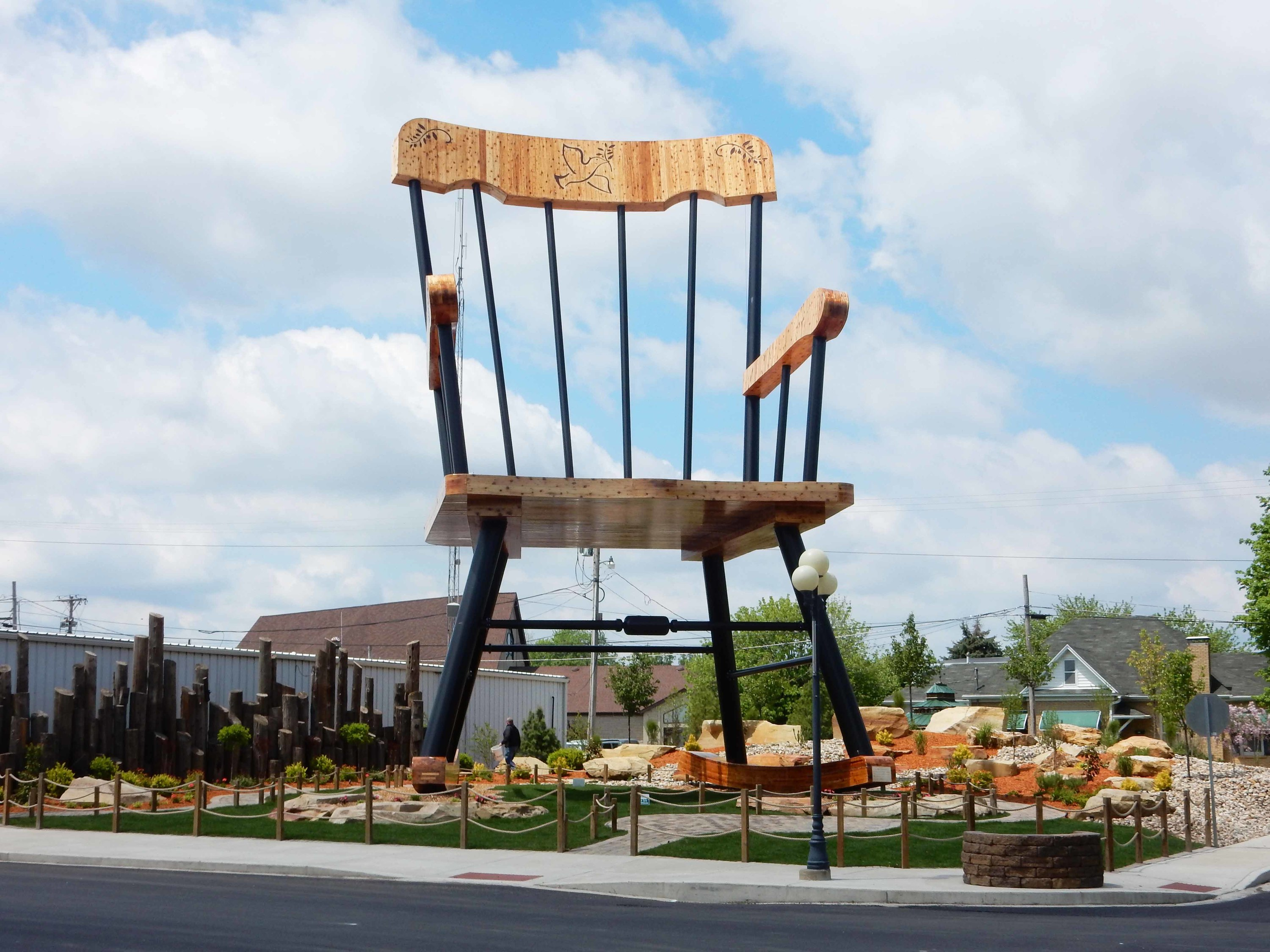 Casey Illinois rocking chair