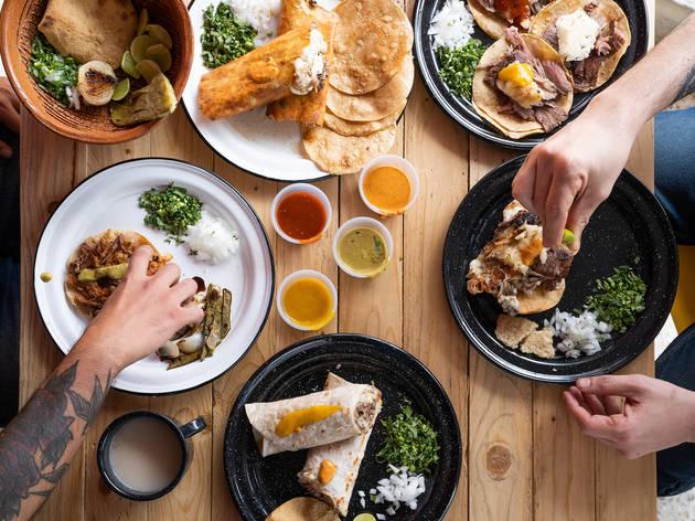 Dónde comer tacos de otros estados de México en la CDMX