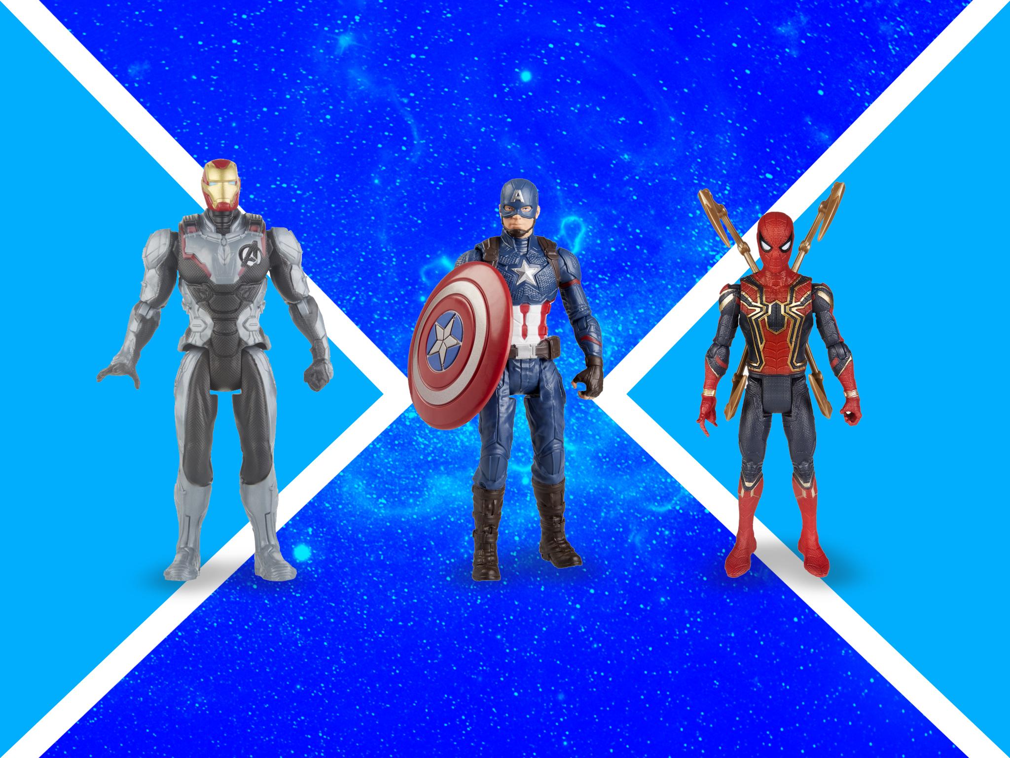 ¡Las figuras de Marvel quieren que encuentres el poder que llevas dentro!