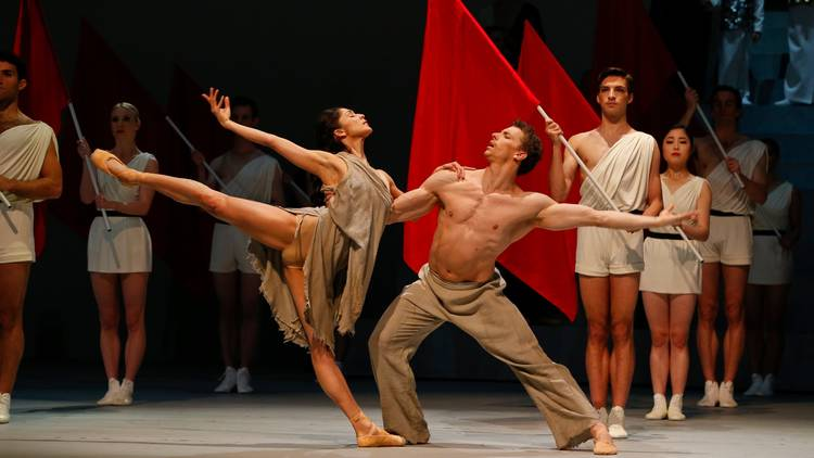 Catch Spartacus quick on Ballet TV before The Merry Widow takes over