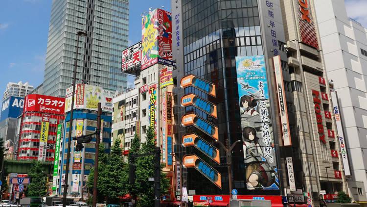 Sega Building 2 Akihabara