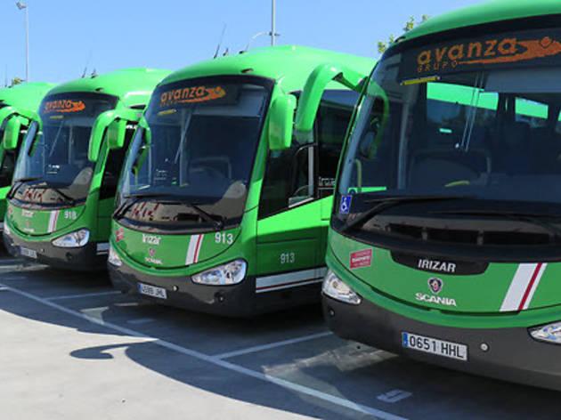 Autobuses de líneas interurbanas