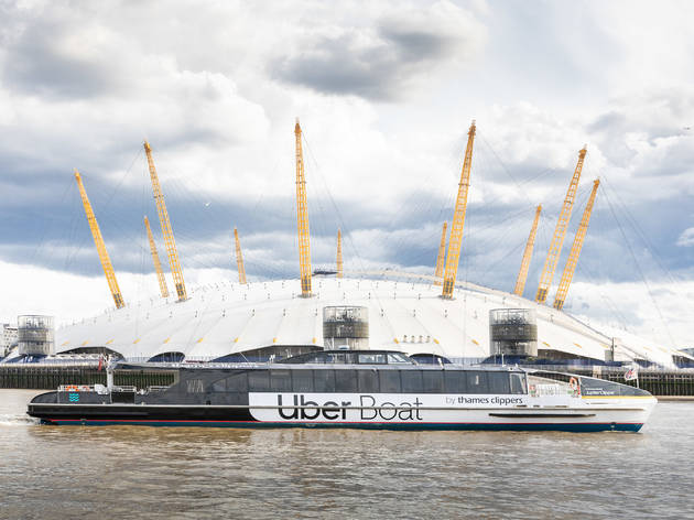 Uber Boat with Thames Clippers