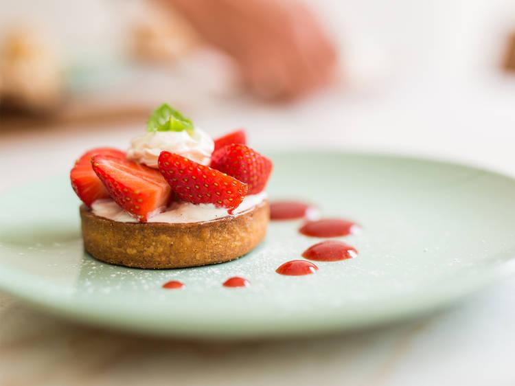Tartelete de fruta da Chouquette