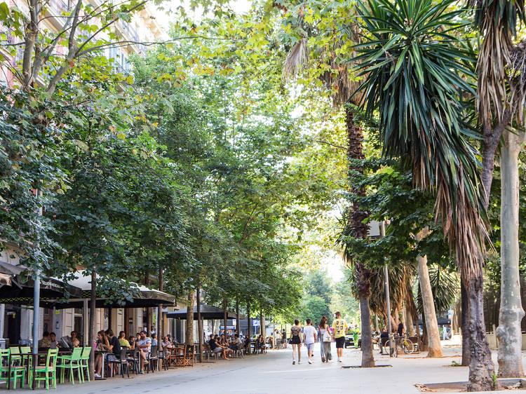 Calle de Enric Granados