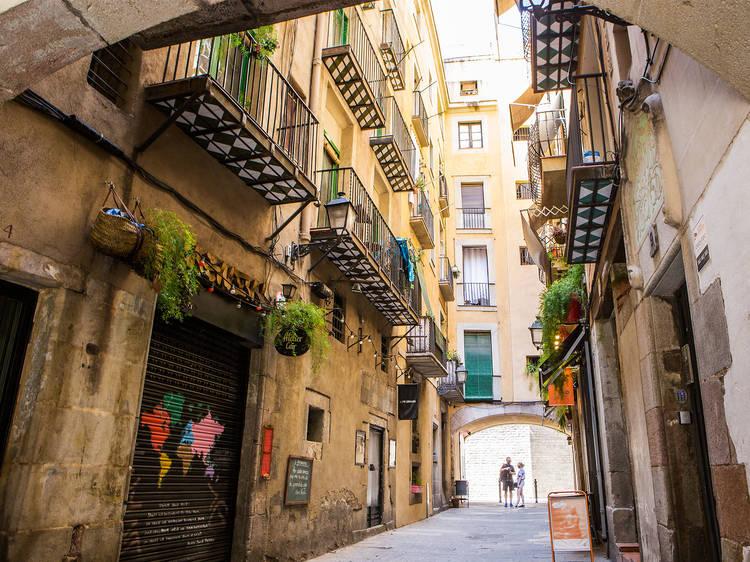 Las calles más bonitas de Barcelona
