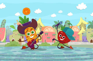Televisão, Séries, Animação, Tutti Frutti