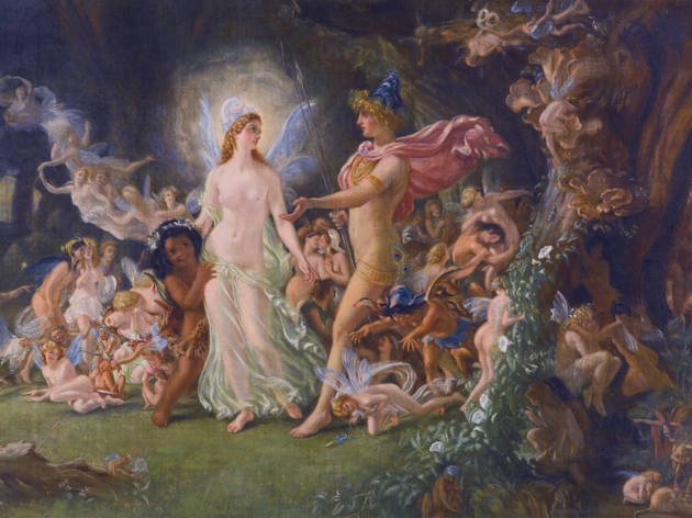 The quarrel of Oberon and Titania, Joseph Noel Paton