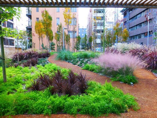 Poblenou gana un jardín público de 6550 m²