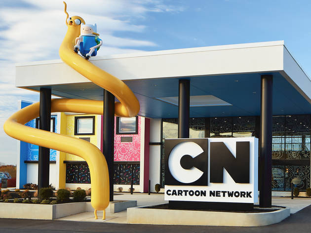 Cartoon Network Hotel reopens