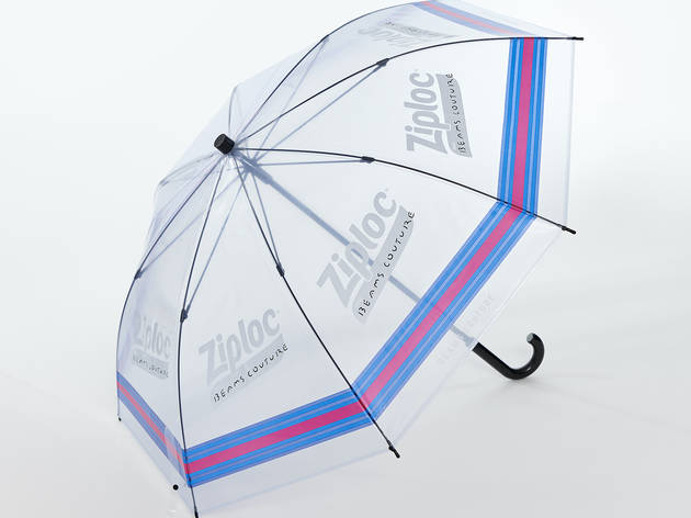 Ziploc umbrella
