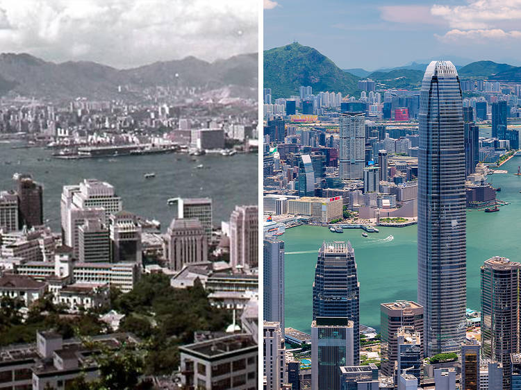 Overlooking Kowloon