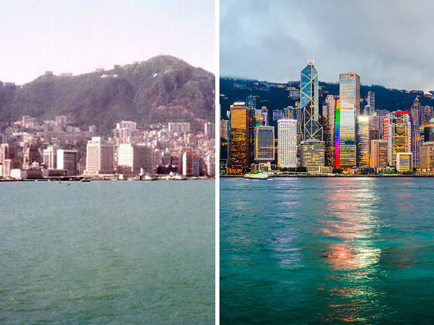 Views around Hong Kong: Then and now