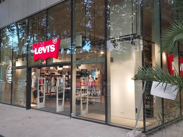 Botiga de Levi's a la Diagonal