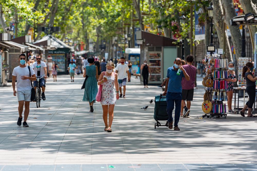 Barcelona millora i la taxa de contagis se situa per sota de l'1