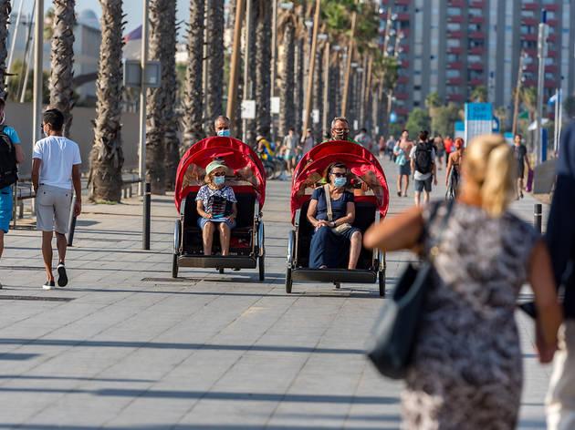 Barcelona reduce las tasa de contagios