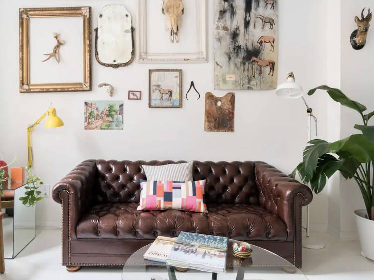 Eclectic artist-designed sanctuary