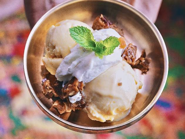 This secret pop-up ice cream shop specializes in decadent sundaes and scoops