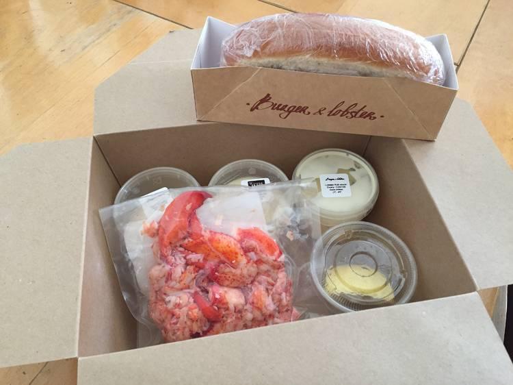 Burger & Lobster, lobster roll kit