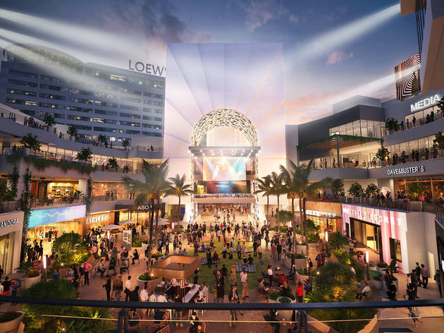 Hollywood & Highland is getting a massive makeover and a new name