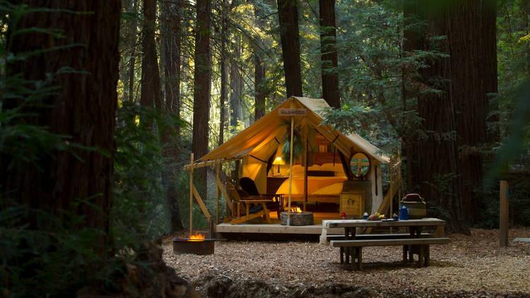 Ventana Big Sur tent glamping