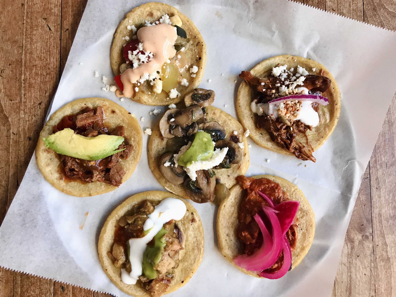 Guisados taco sampler