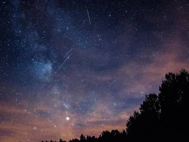 Perseids Meteor Showers