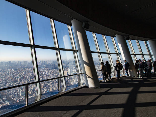 Tokyo Skytree tickets are 50 percent off for Tokyo residents this August
