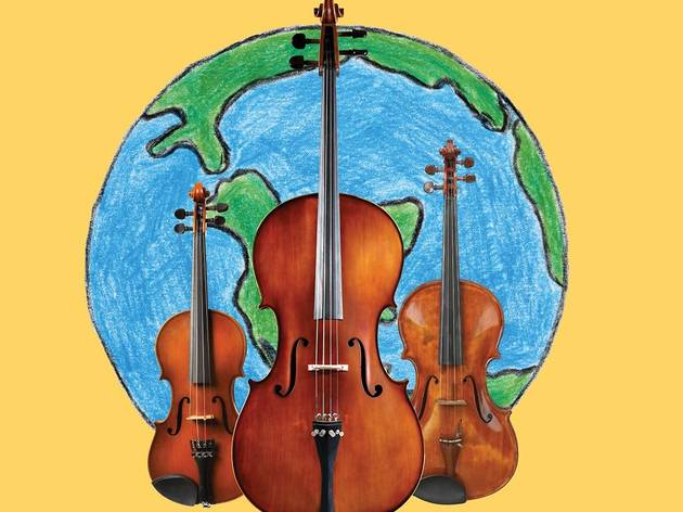 Kids Music Café: Around the World