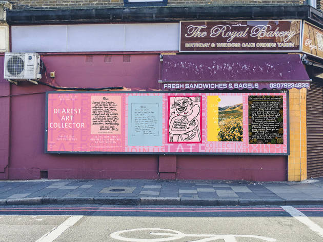 Stoke Newington Billboard Tate