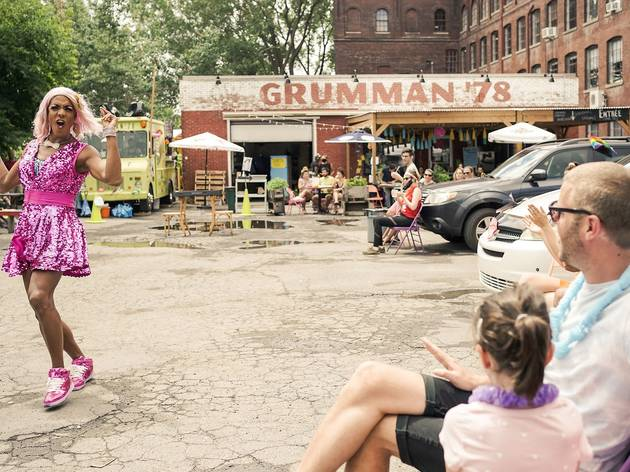 Grumman '78 is doing Drag-Thru brunch services in Saint-Henri and they are FAB-U-LOUS
